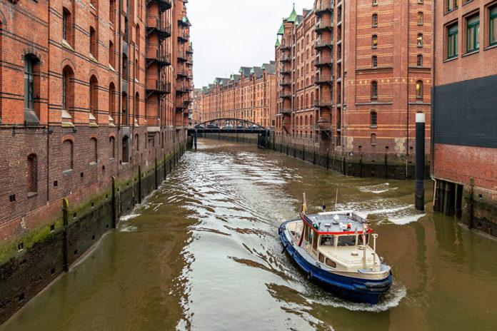 Каналы в Гамбурге