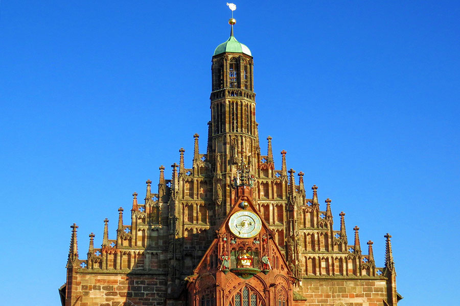 Церковь Девы Марии в Нюрнберге