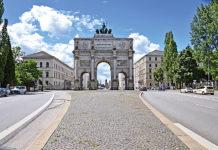 Триумфальная арка в Мюнхене